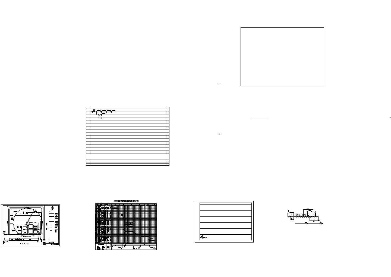 400万6层框架结构住宅施工cad图,共五张图片1