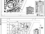 某小游园绿化设计装修施工图纸图片1