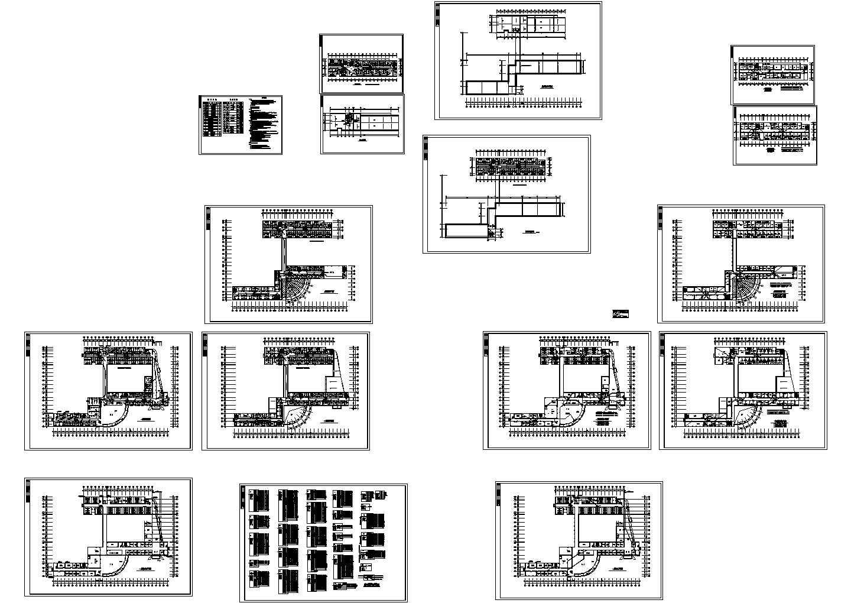 某6层医院低压配电照明系统设计图片1