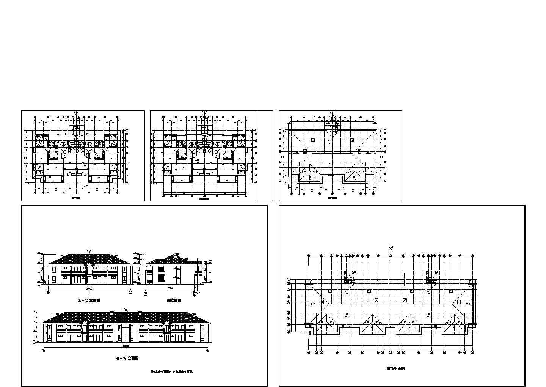 某二层酒店式公寓建筑施工图图片1