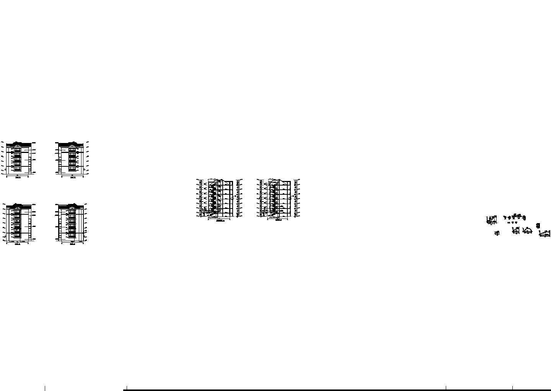 灌庄小区小区8号住宅建筑图纸图片1