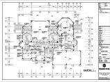 首层室内可调空调风百叶管道平面cad图纸图片1