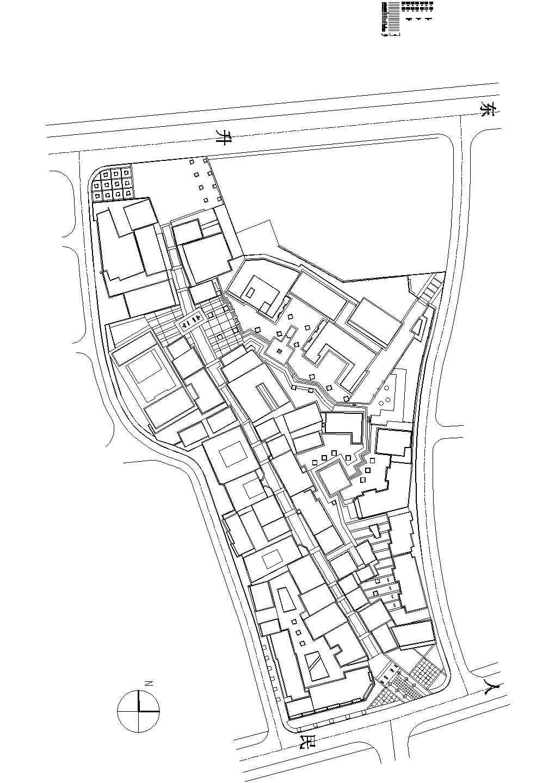 浙江台州北新椒商业街全套环境景观施工图图片1