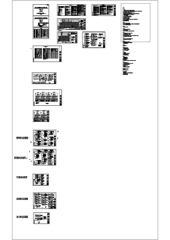 丹麦某科研教育楼工程建筑工程电气施工图(含智能化系统)图片1
