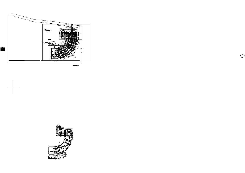 一期地下车库安全防范总平面建施cad图纸图片1
