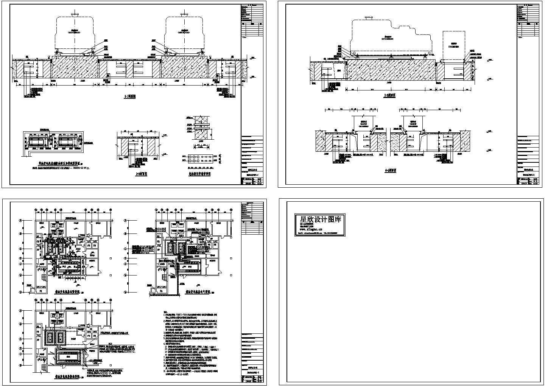 电站、变电所电气及设备保集半岛人防工程CAD图图片1