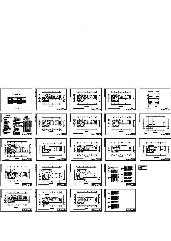某5层办公楼电气设计施工图图片1
