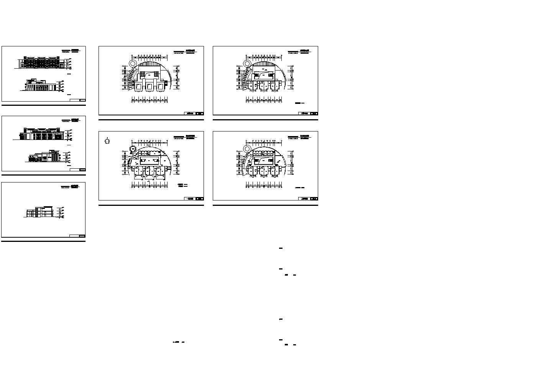 绿色家园之幼儿园总平面设计图图片1