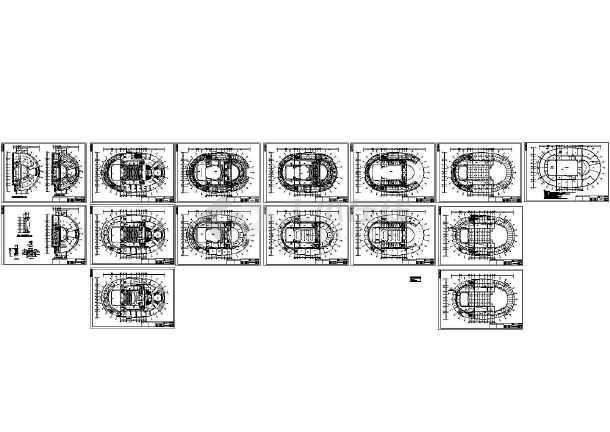某5层青少年活动中心电气设计图-图一