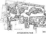 苏州拙政园景观平面图图片1