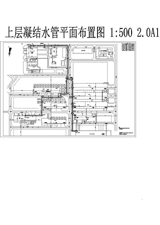 锰矿厂区蒸汽管网室外工程设计图纸图片1