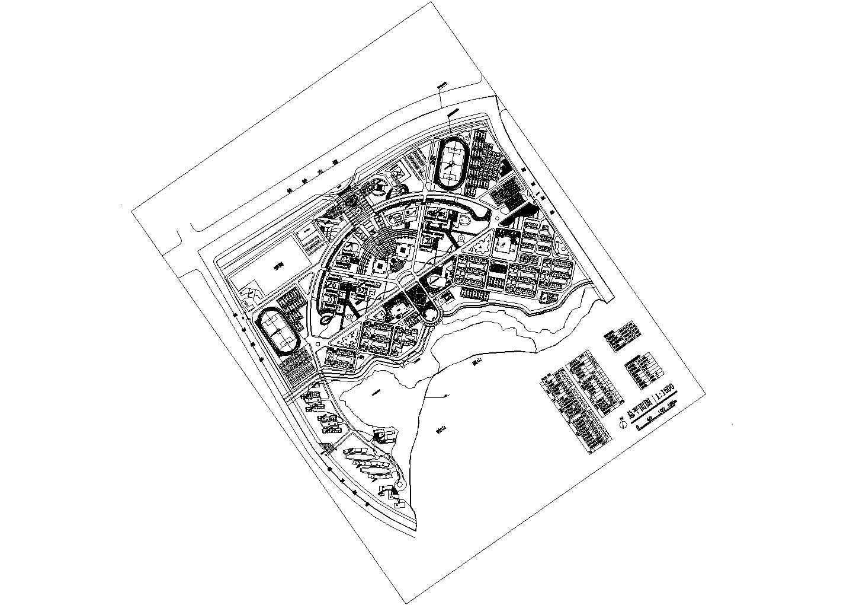 学校体育馆活动中心立面设计图图片1