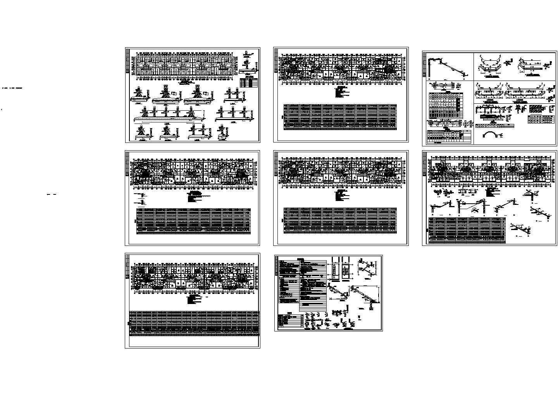 某地区7层砖混住宅楼结构设计CAD施工图(共8张)图片1