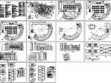 学校食堂建筑施工cad图,共十四张图片1