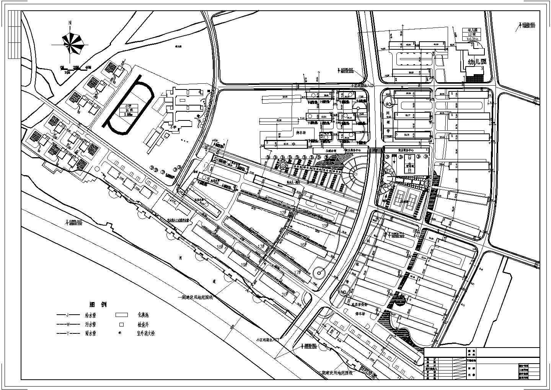 某小区给排水规划图图片1