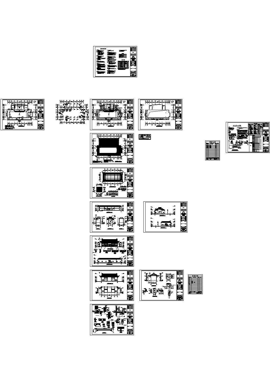 老年人活动中心电气设计CAD图图片1