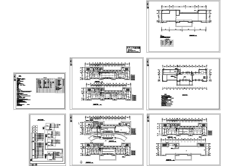 某市海关办公楼电气图纸CAD图图片1
