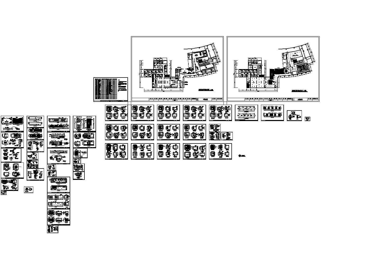 某地区简易酒店室内改造装修设计图图片1