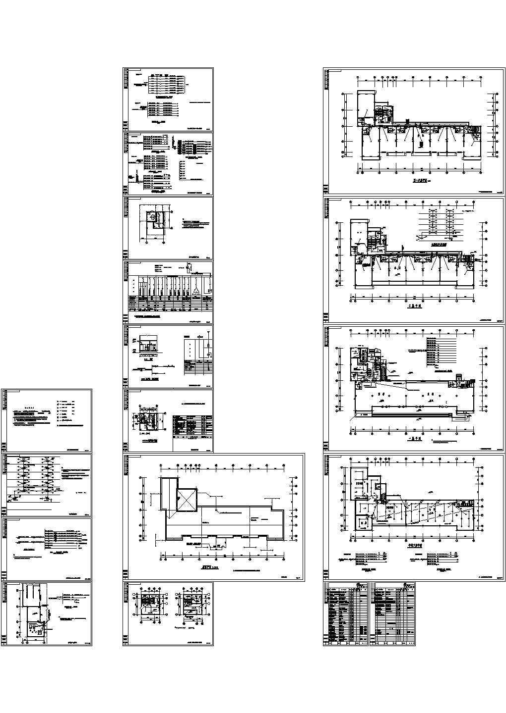 某6层办公楼电气设计施工图图片1