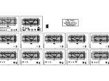 某四层框架结构学院教学楼结构施工图纸(标注明细),12张图纸图片1
