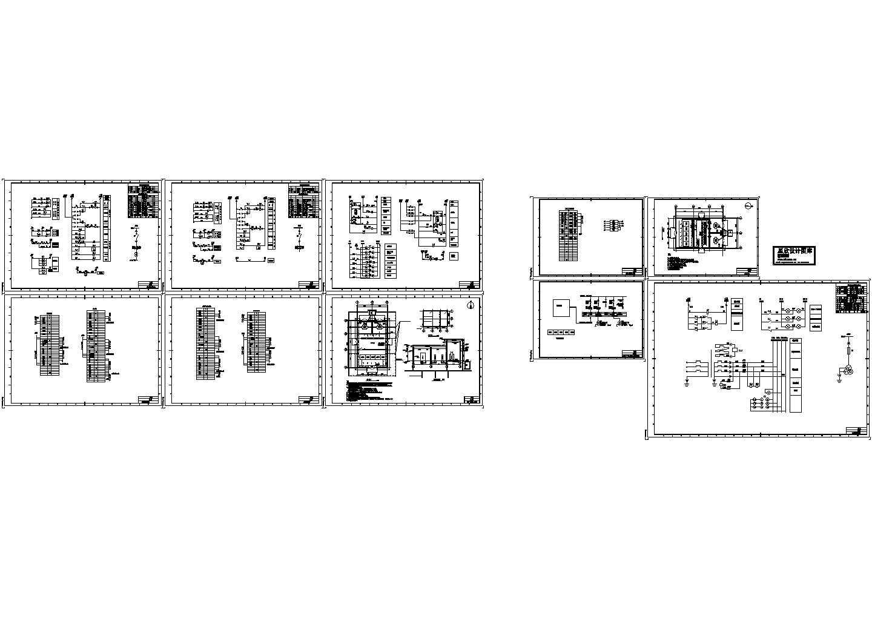 电站、变电所电气及设备03CAD图图片1