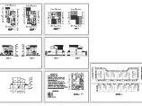 某274平方米三层砖混结构独院式别墅建筑设计CAD图纸(含设计说明)图片1