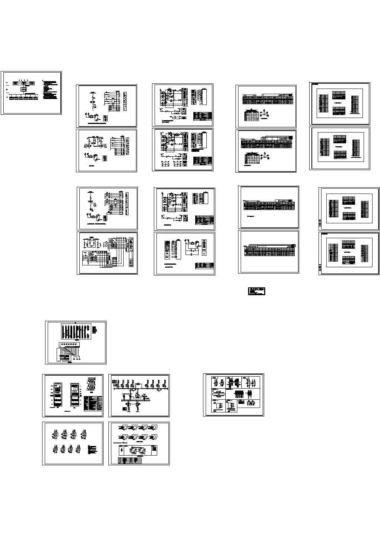 电站、变电所电气及设备04CAD图图片1