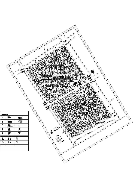 某小区绿化规划建筑设计施工图图片1