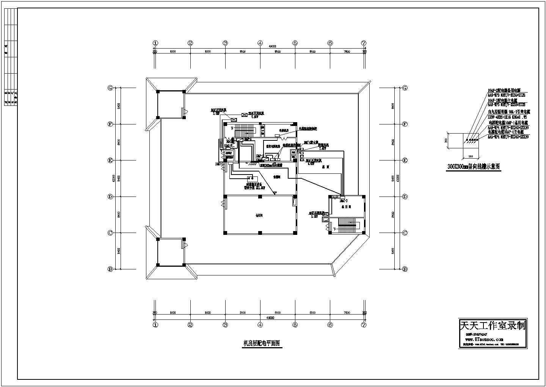 机房配电平面图纸设计图片1