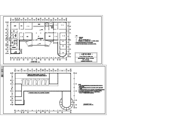 非常值得下载的医院电气设计CAD平面图图片1