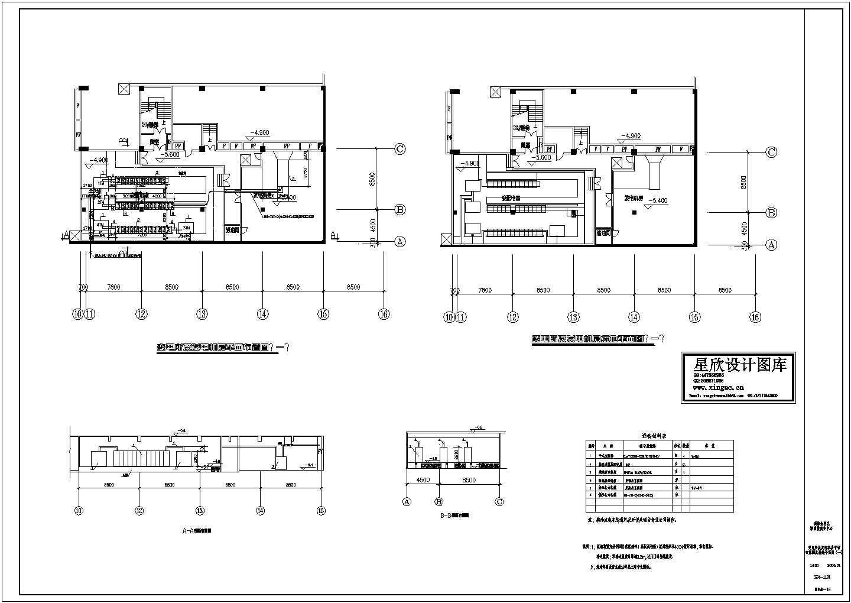电站、变电所电气及设备地沟详图CAD图图片1