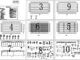 135x66m钢框架结构单层厂房结施设计CAD图(设计说明)图片1