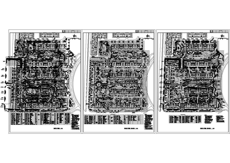 某小区二期绿化图种植设计平面图图片1