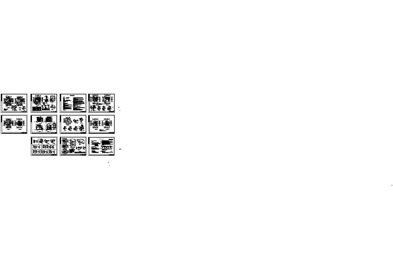简单实用的新型农村住宅建筑图纸图片1