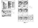 3层单体别墅排水系统建施cad图,共九张图片1