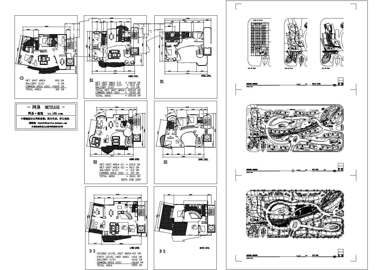 国外某别墅CAD规划设计方案图图片1