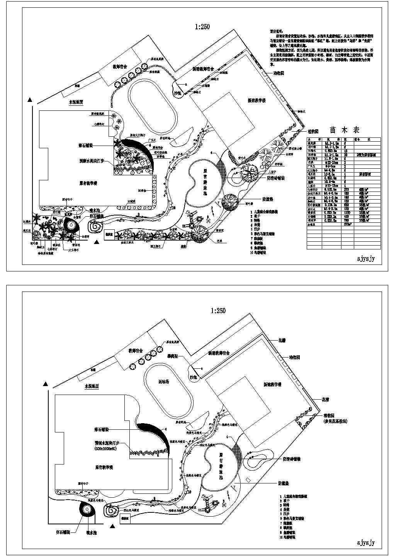大涌镇中心幼儿园园林设计图片1