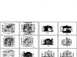 无锡三层高档别墅住宅楼建筑施工设计方案图图片1