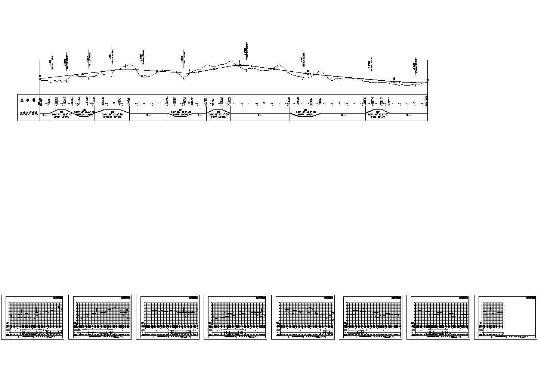 总长5.165KM二级公路毕业设计(设计说明书14页,土方计算表、CAD图纸)图片1