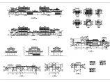 某仿古建筑施工设计CAD图纸图片1