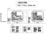 长46.8米 宽41.6米 医院建筑首层L型门诊部电施设计图纸图片1