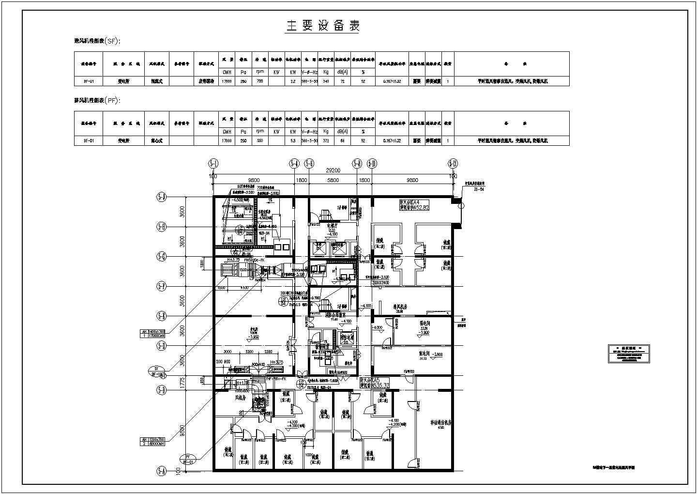 多栋高层商业综合楼空调通风防排烟施工图图片1