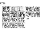 二类高层住宅电气施工cad图,共十六张图片1