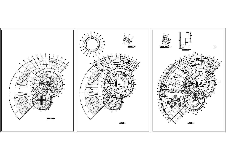 生态园餐厅平面设计方案图图片1