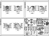 二层别墅全套建筑图纸(共12张)图片1