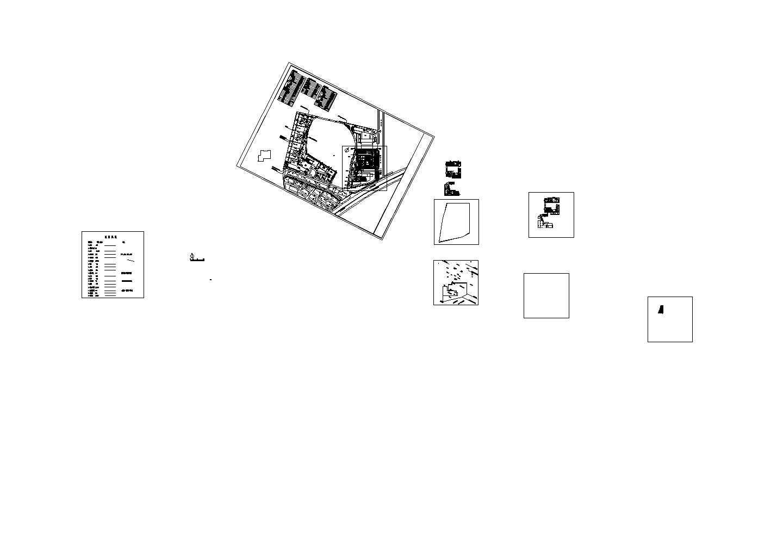 彤云县高贤社会福利站室外工程--电气设计施工图图片1