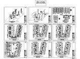 某地区7层U型(7单元1户2户)小区组团住宅给排水施工图图片1