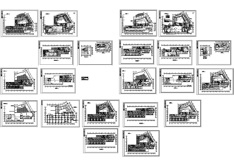 某十三层门诊综合楼电气施工CAD图图片1