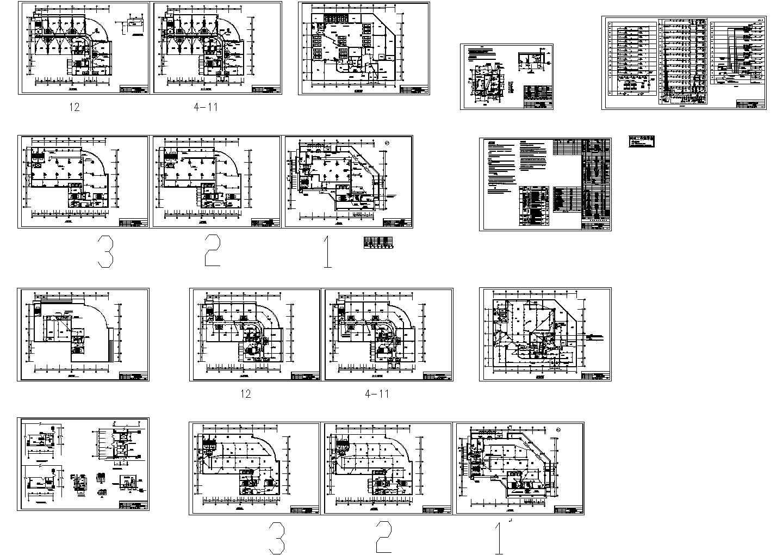 某邮政办公楼综合布线系统图设计图片1