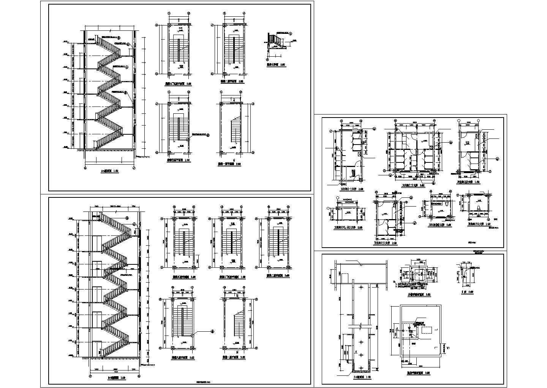楼梯、电梯、卫生间大样图图片1